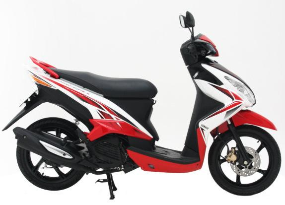 Yamaha Mio 125 cc │ Modification Like a Yamaha MX title=