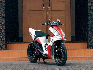 Motorcycle S Style Modifikasi Motor Sporty Yamaha Mio