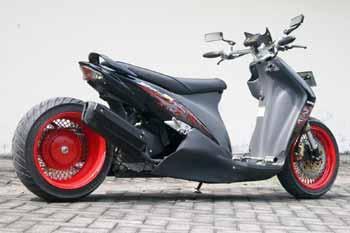 Modifikasi Suzuki Spin Low Rider