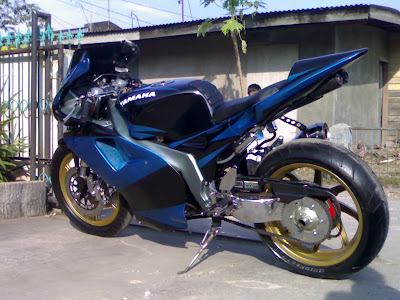 Modification Jupiter Z MV Agusta Styles