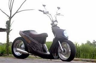 Yamaha mio modifikasi lowrider