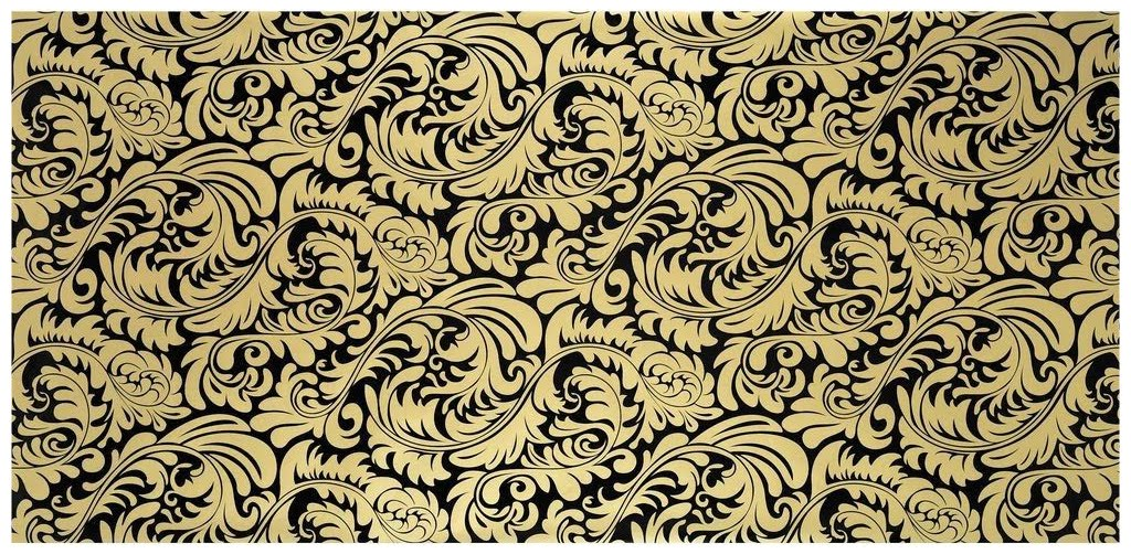 Interiorinstyle blog september 2010 for Black and gold wallpaper for walls