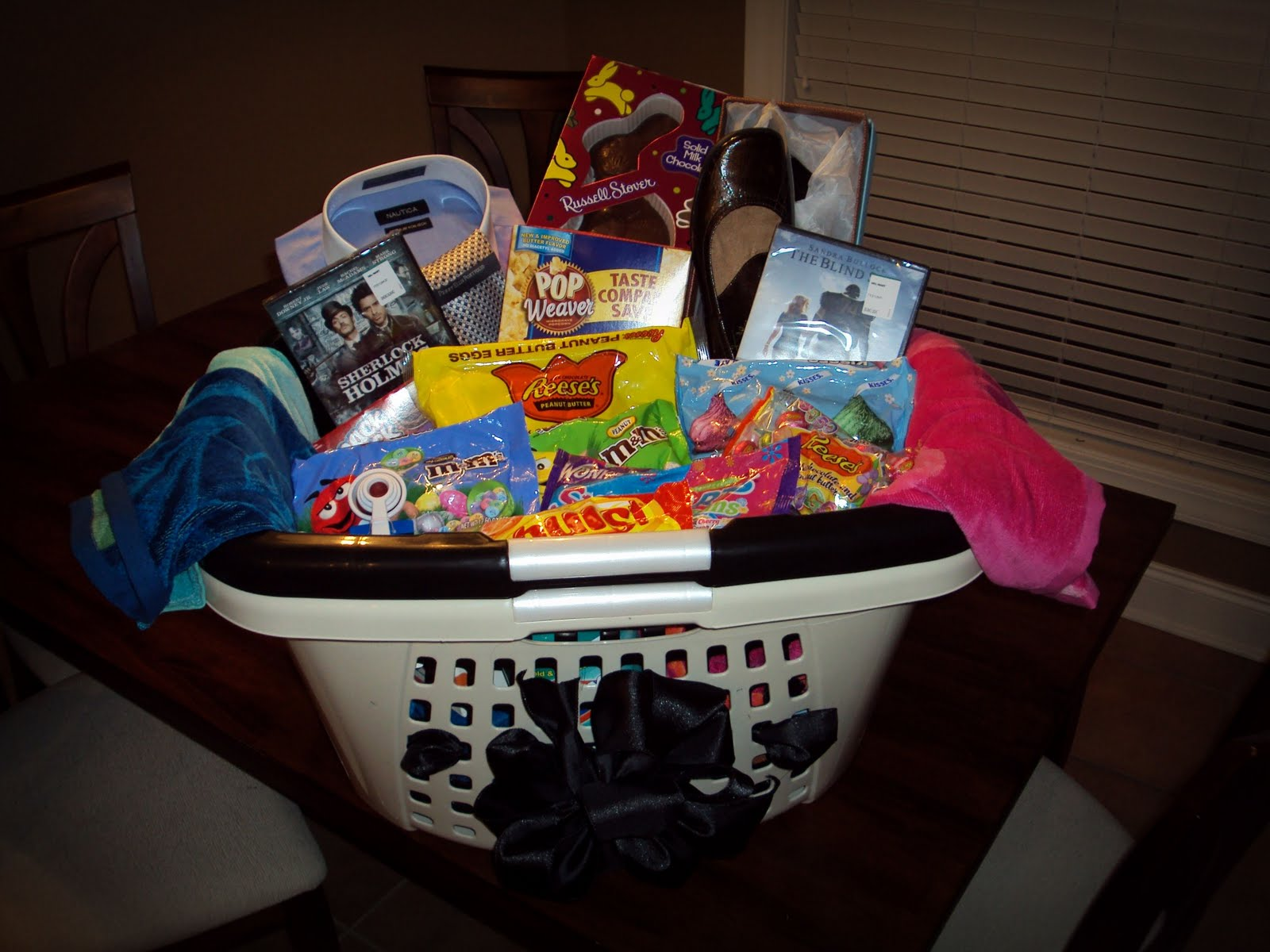 Sowell life april 2010 this is our mine and terrys grown up easter basket negle Images