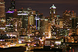 Seattle View from Old Apartment - Queen Anne