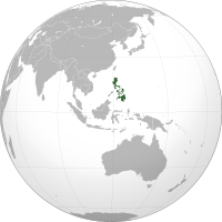 Mapa de Filipinas