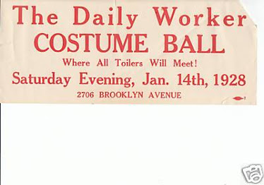 """Costume Ball--Where All Toilers Meet!"""