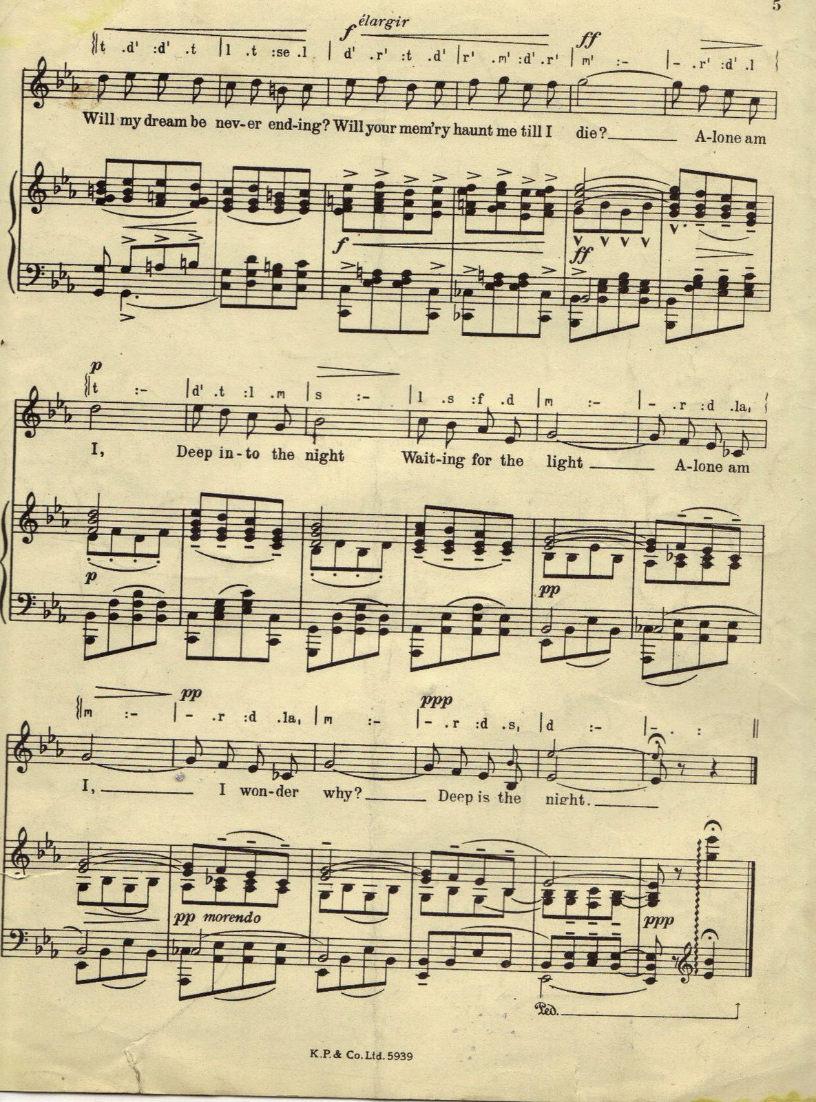 It is a picture of Magic Printable Sheet Music