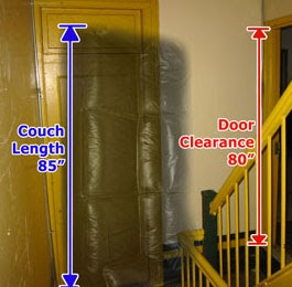Couch Thru Doorway U0026 Fitting Couch Through Door Trying To Fit My