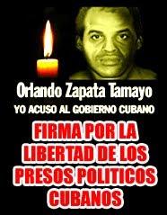 Firmas por los presos politicos cubanos