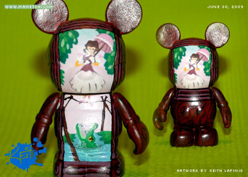 The Disney Vinylmation Blog Fan Made Haunted Mansion