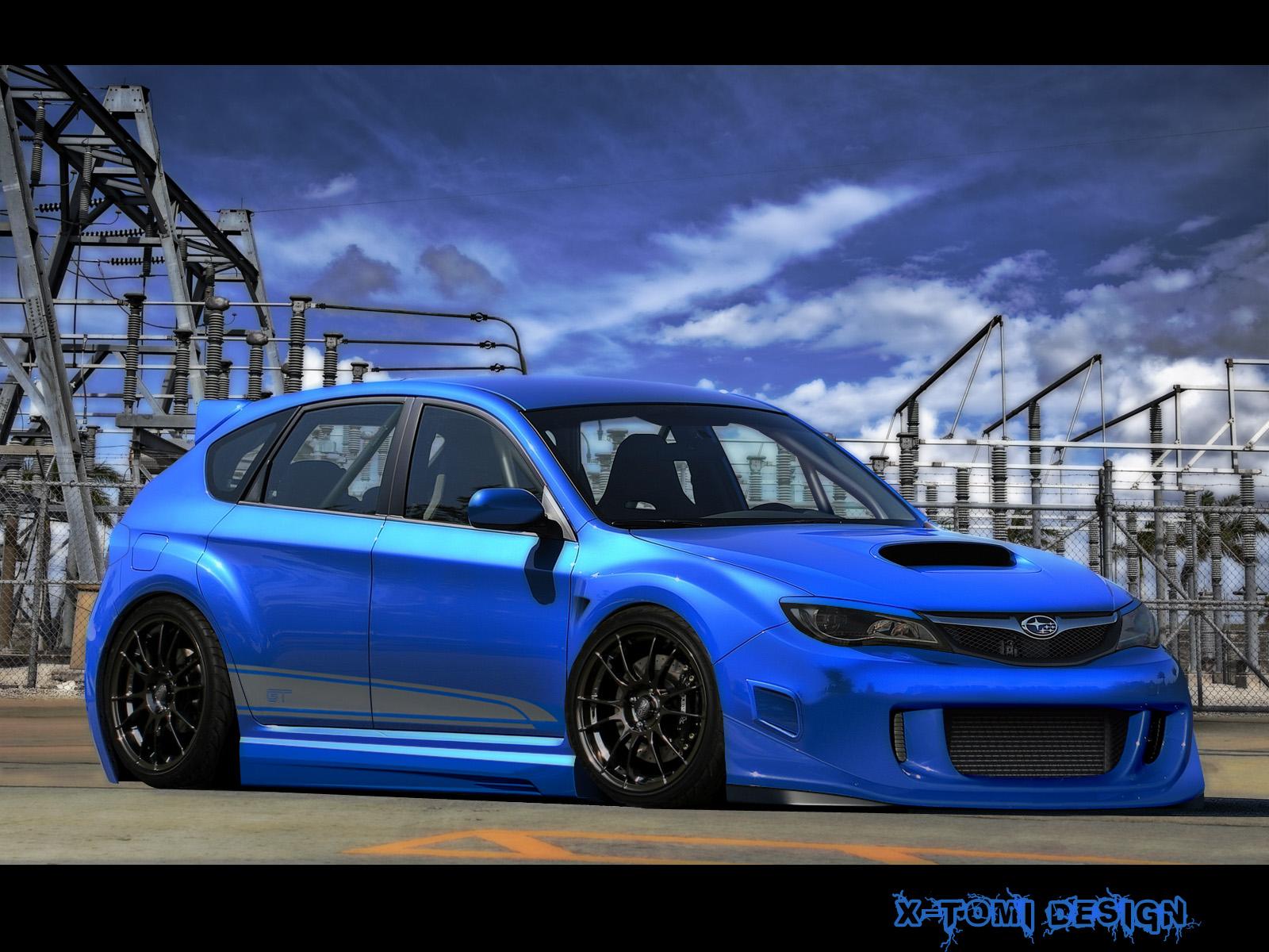 Subaru Impreza Wrx Sti Effekt
