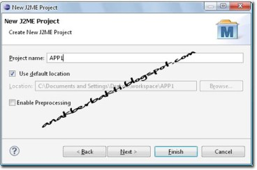 j2me step by step This time, after aquick introduction to j2me, i will provide a step-by-step guide to  creating j2me applications,also known asmidlets, using a.
