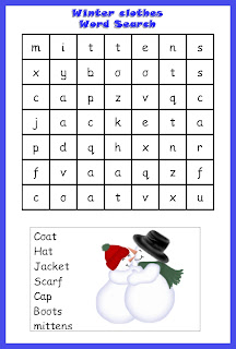 Priceless image throughout winter word search printable free