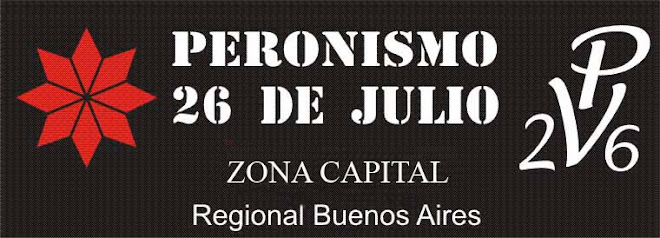 peronismo 26 de julio zona capital