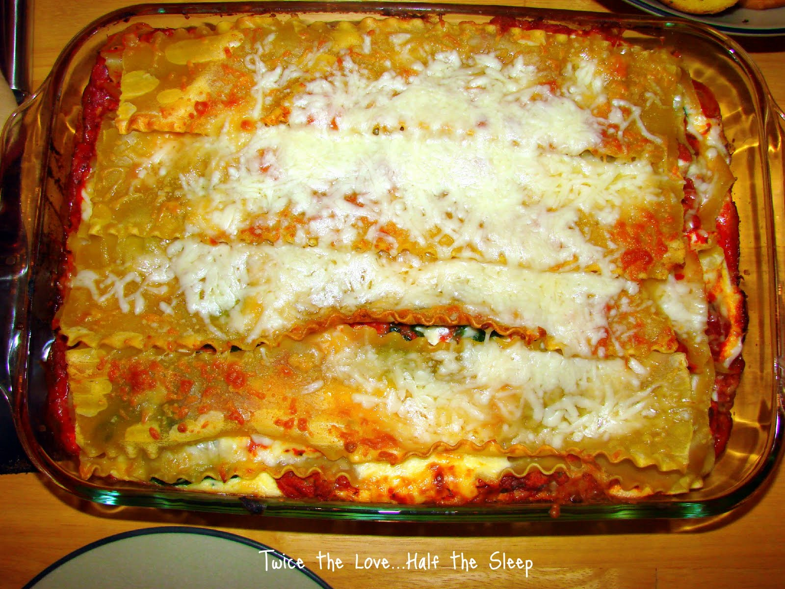 White House Recipe: Turkey Lasagna with Spinach