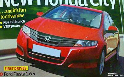 Honda City 2009 Frontview 2