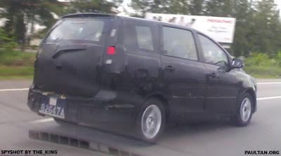Proton MPV 2009 Spyshots 4