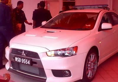 Kereta Peronda Malaysia Evo 10 1