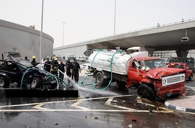 Doha Road Traffic Accident Photo 4