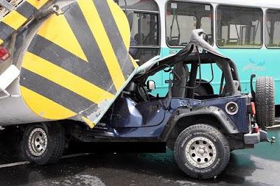 Doha Road Traffic Accident Photo 1