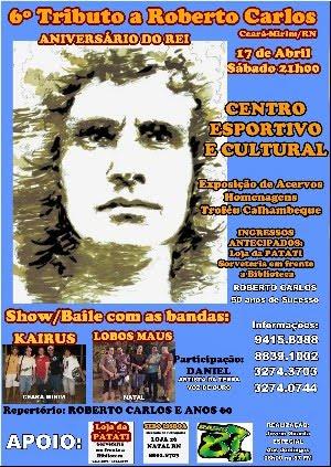 IMPERDÍVEL: 17 DE ABRIL - SÁBADO - 21h00 NO CEC/CEARÁ-MIRIM/RN