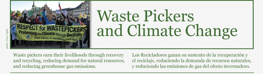 Waste Pickers and Climate Change | COP 16, Climate Change Conference, Recycling Waste