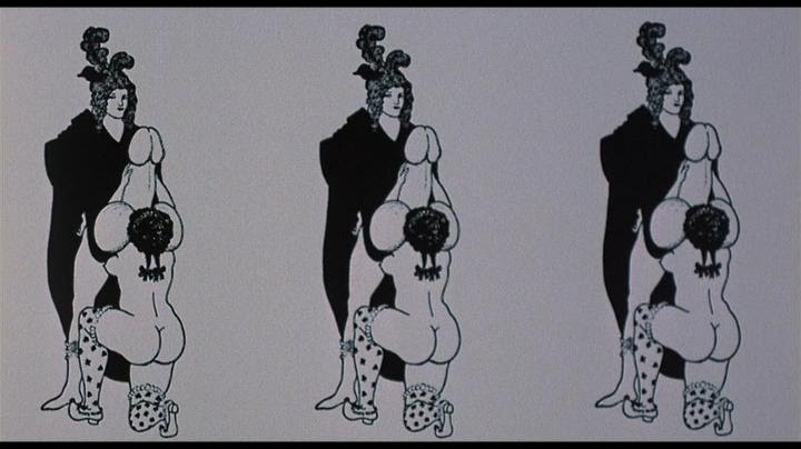 Throughout The Film Russell Intercuts China Blues Sexual Dalliances With Antique Ancient Depictions Of Sex Triptych Above Flashes Onscreen While