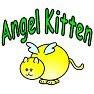 翼の生えた猫・天使猫・Tシャツ・グッズ