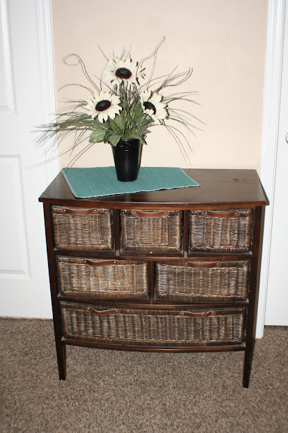 Dresser with Basket Drawers
