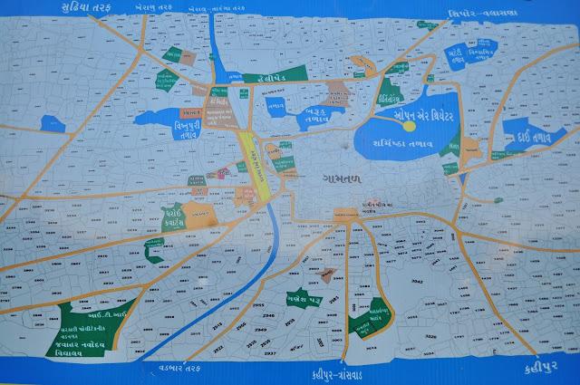 vadnagar narendra modi gujarat map