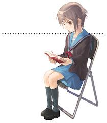 我喜欢看书...