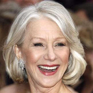 Helen Mirren White Hairstyle