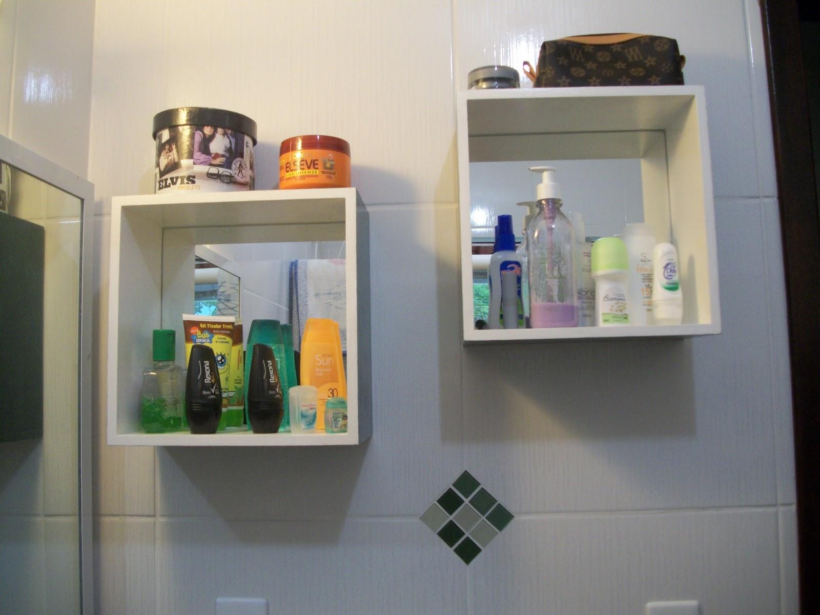 Mania de Fazer Arte Nicho para banheiro em mdf -> Nichos Mdf Banheiro