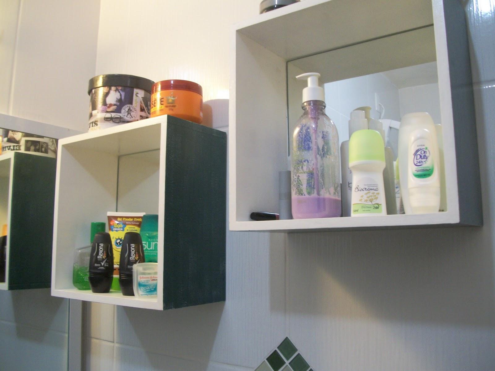 Mania de Fazer Arte: Nicho para banheiro em mdf #7D784E 1600x1200 Banheiro Com Nicho Como Fazer