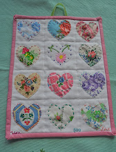Vintage Heart Sampler
