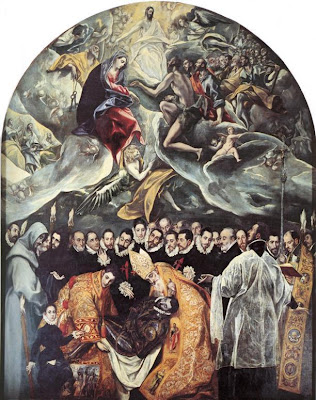 El Greco - The Burial of Count Orgaz