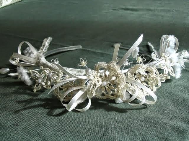celtic wedding headbands