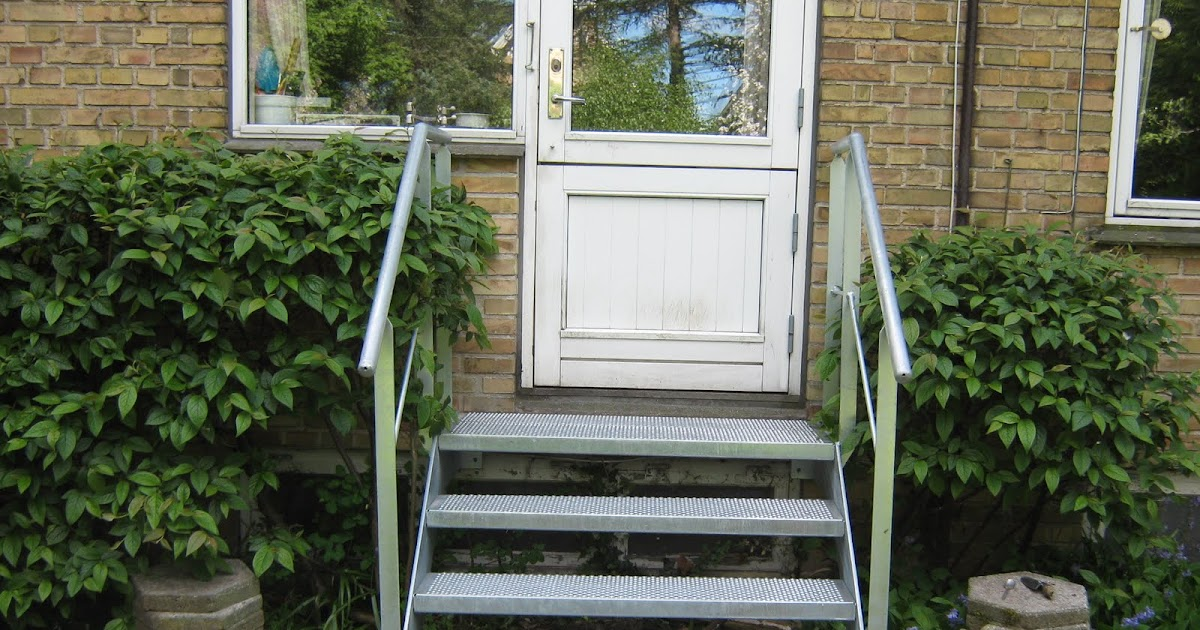 Galvaniserede udendørs trapper, ståltrapper, smedejerns trapper ...