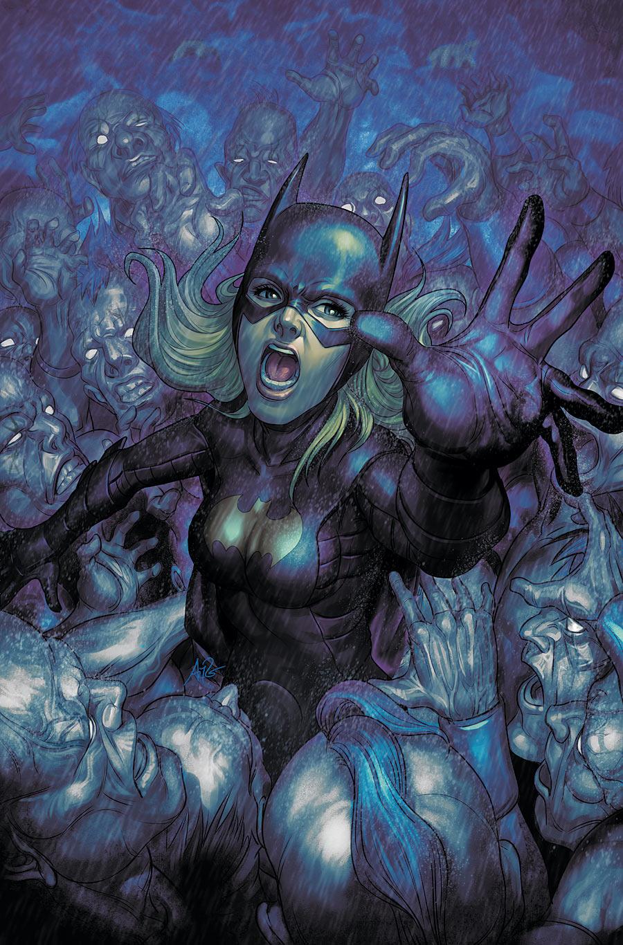 """Batgirl Defeated """"batgirl"""" #10"""