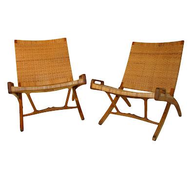 Pair of Hans Wegner for Johannes Hansen folding chairs  sc 1 st  Janus Home & Janus Home: Pair of Hans Wegner for Johannes Hansen folding chairs