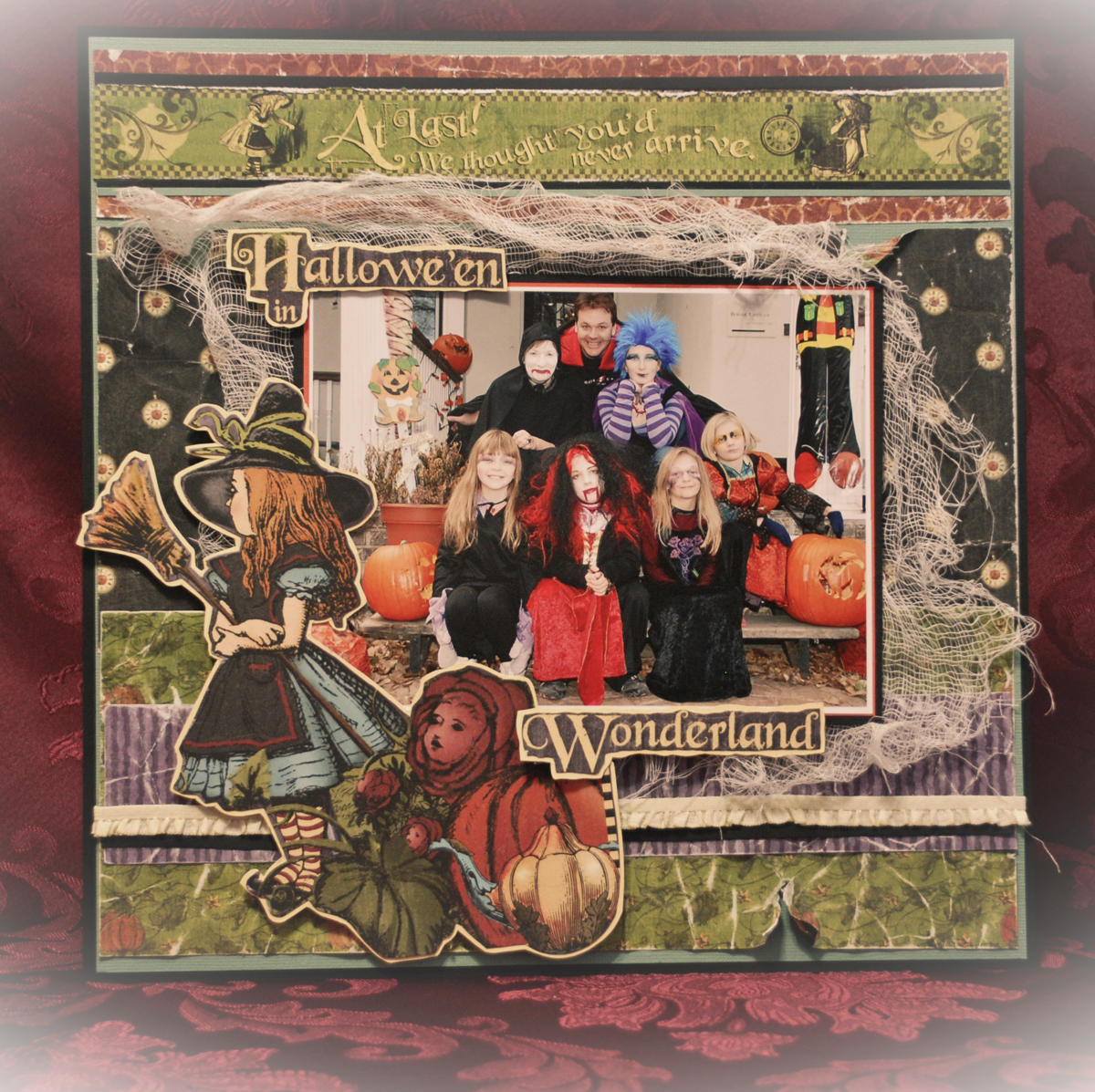 Shades Of Stamping Bloggers Challenge Scrapbooking Halloween With