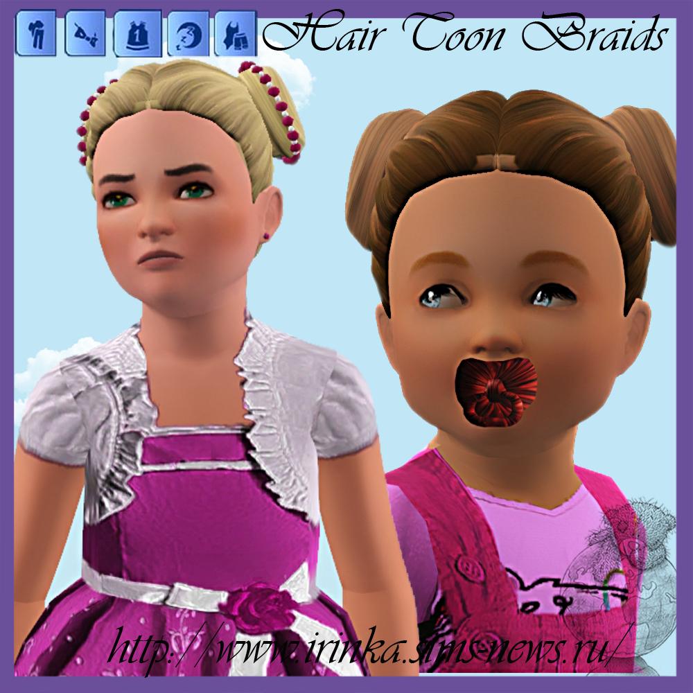 Причёски и аксессуары для симс 3