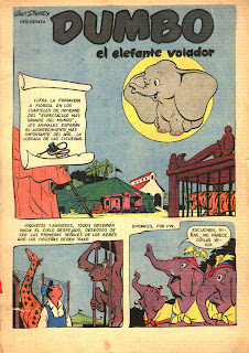 Historieta Dumbo