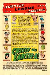 crisis on earth A JLA