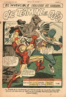 Iron Man 8 La Prensa 1969 pag. titulos