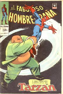 suplemento fabuloso hombre araña 209