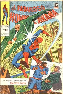 suplemento fabuloso hombre araña 219