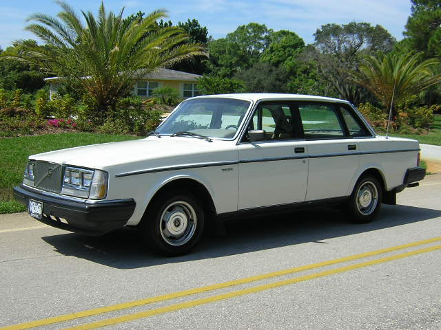 8 Hot Used cars being sold that you can afford... Volvo+240+white