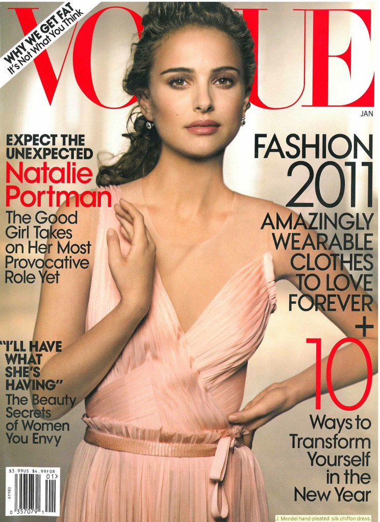january 2011 vogue. US Vogue January 2011: Natalie
