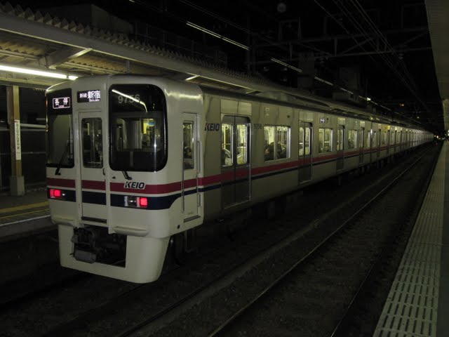 京王電鉄 各停 新線新宿行き4 9000系(毎日始発終電運行)